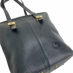 DOONEY. & BOURKE Vintage Black Pebble Leather Bag